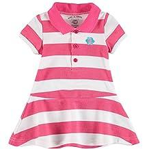 Wan-A-Beez Baby Girls' Pique Polo Dress Set