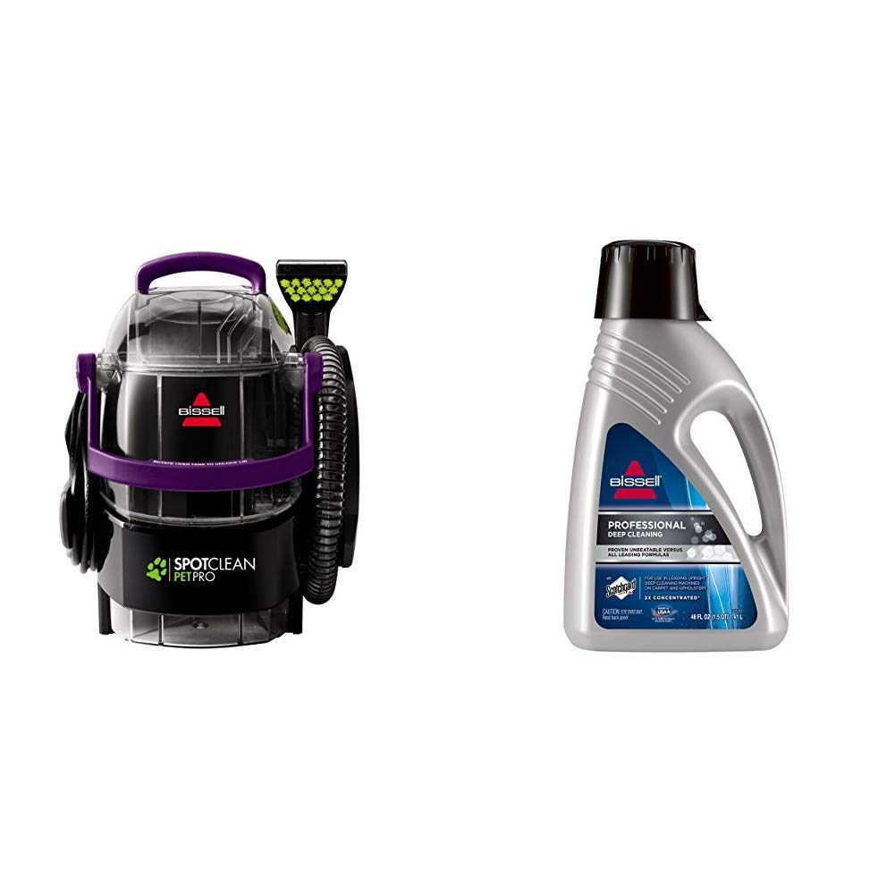 SpotClean Pro with Carpet Shampoo by Bissell