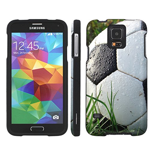 Elmo Silicone Case - Mobiflare Samsung Galaxy S5 Soccer Ball Slim Guard Protect Artistry Design Case