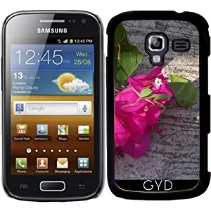 Funda para Samsung Galaxy Ace 2 (GT-I8160) - Asia Flor Rosa by Marina Kuchenbecker