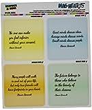Graphics and More Eleanor Roosevelt Inspirational Quotes Mag-Neato's Automotive Car Refrigerator Locker Vinyl Magnet Set
