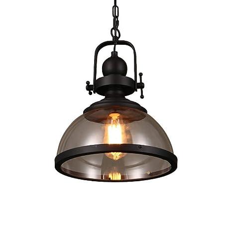 GongDi Lámparas de araña Lámpara Loft Retro Restaurante del ...