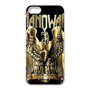 diy zhengCool-Benz manowar heavy metal logo bands Phone case for Ipod Touch 5 5th /