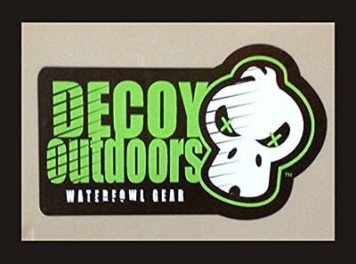 Decoy Outdoors Killer Skull Gun Stock Duck Hunting Decal Sticker