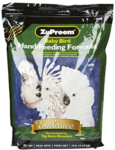 ZuPreem Embrace Hand-Feeding Formula - 10 lbs