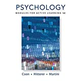 Psychology: Modules for Active Learning (MindTap Course List)