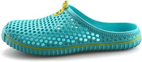 Zuyau Chanclas para Hombre Zuecos Zapatos de Zueco de jardín para Hombres Sandalias de Playa Hombre Zapatillas Huecas Unisex Summer Water Shoes Hombre: Amazon.es: Deportes y aire libre