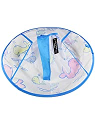 Waterproof Child Hair Cutting Cloak Kids Hair Apron Cape Spray Water Whale