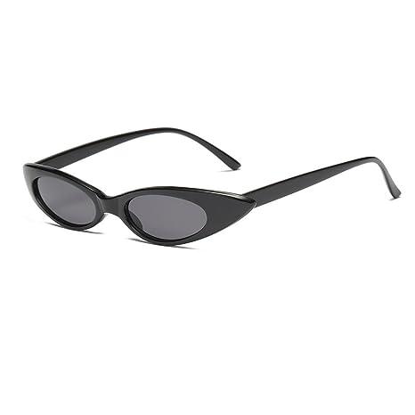 AOLVO - Gafas de Sol pequeñas para Mujer, Ojo de Gato ...