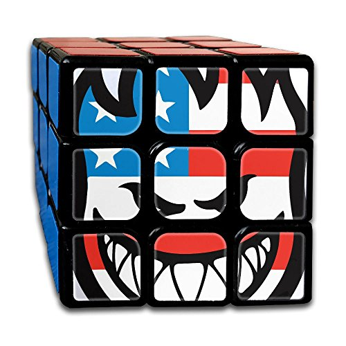 Spitfire Flaghead 3x3x3 Speed Cube Carbon Fiber Sticker Smooth Magic Cube Puzzles