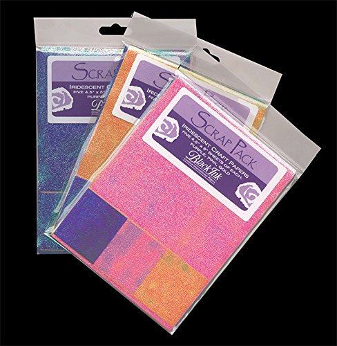 Paper Scrap Pack: Assorted Iridescent Papers -