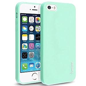 Amazon.com: iPhone SE Case, Insten TPU Rubber Skin For