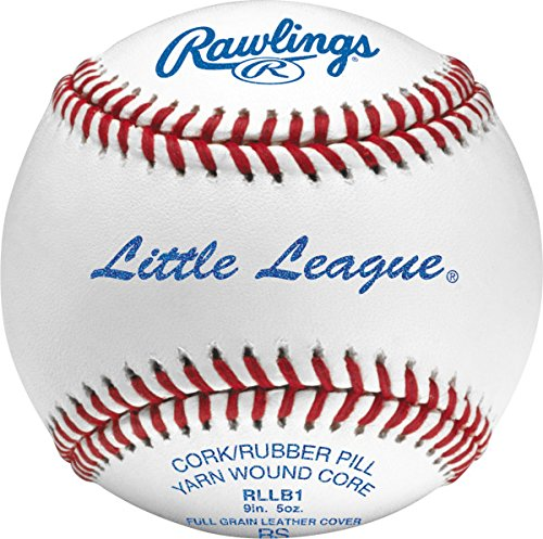 Rawlings RLLB1BT24 Little League Competition Grade Leather Baseball (Grade Leather Baseball)