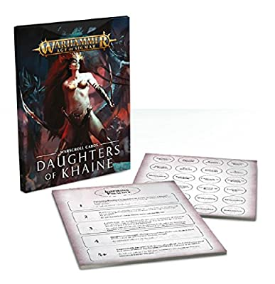 Age of Sigmar Warscroll Cards: Daughters of Khaine by Games Workshop
