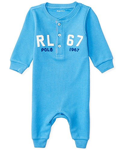 Ralph Lauren Henley Cverall, Baby Boys, Cruise Royal