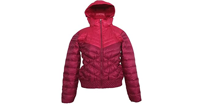 2c0a07564e Amazon.com  Nike Womens Cascade 700 Down Jacket Feather Coat (Large ...