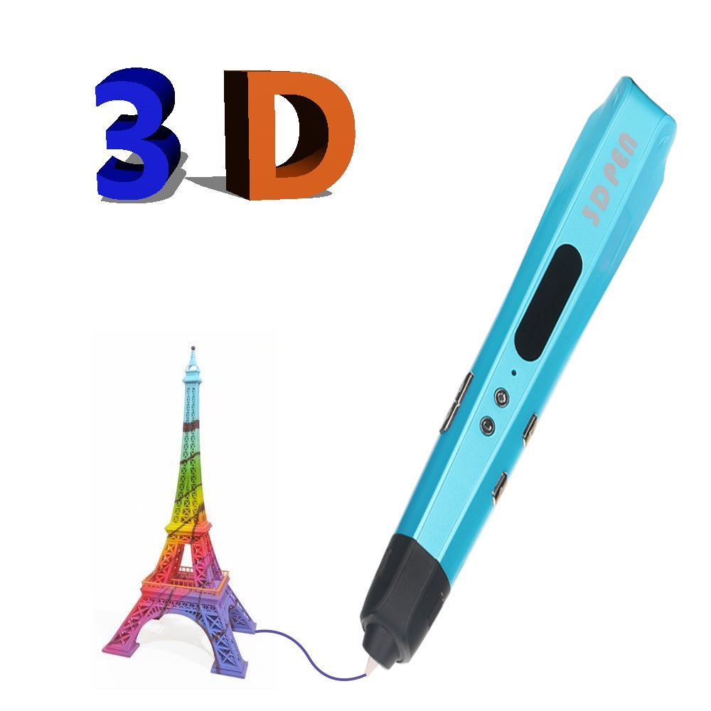 Ltd 3D Pen,Loong 3D Printing Pen with LCD Screen,Support 1.75mm PLA Filament with Different 18 Colors,Great Gift for Kids Adults Shenzhen Sibuxiang Technology Co