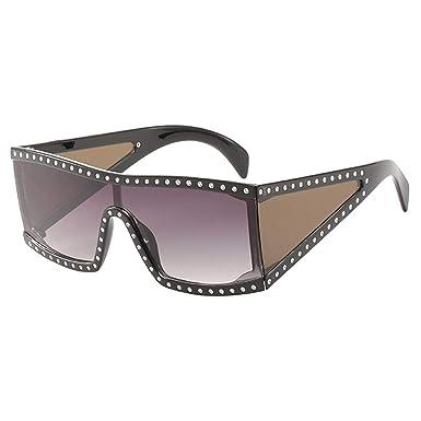 MEIHAOWEI Gafas de sol de gran tamaño Mujeres Moda ...