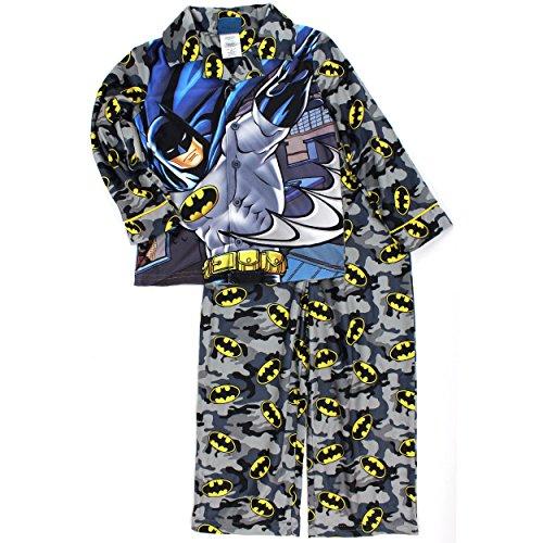 Batman Flannel Style Pajamas Little