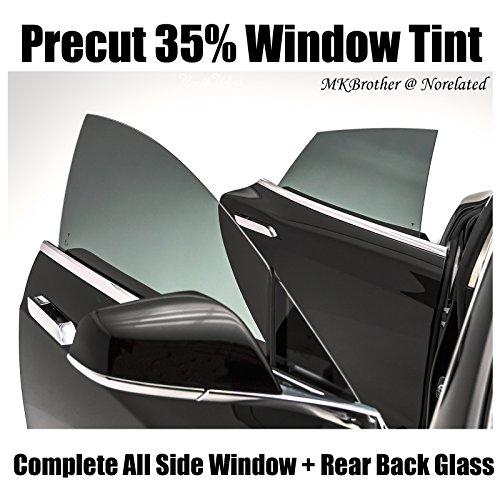 03-04 Toyota Corolla 35% VLT Smoke Computer Precut Complete Window Tint Film (Corolla Computer)