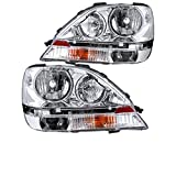 Newmar Mountain Aire 2005-2006 RV Motorhome Pair (Left & Right) Replacement Headlights Head Lights Front Lamps