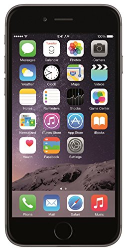 Apple iPhone 6 128GB Factory Unlocked GSM Smartphone w/ 8MP Camera - Space Gray (Certified Refurbished)