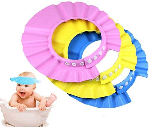 DAYAN Safe Shampoo Shower Bathing Protect Soft Cap Hat for Baby Children Kids