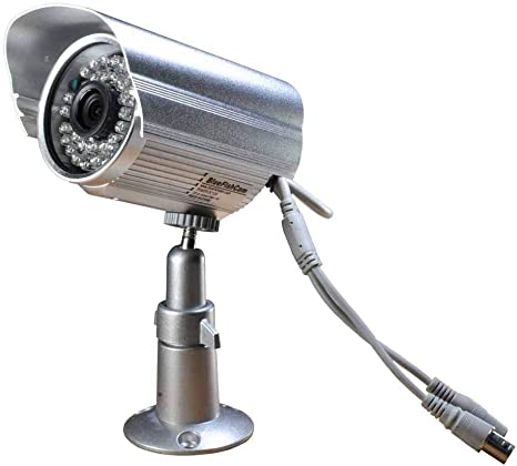 8 1200TVL CCTV Surveillance Security Day Night 3.6mm Waterproof Camera w// Cables