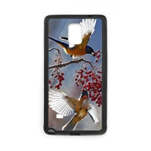 JCCFAN Hummingbird Phone Case For Samsung Galaxy note 4 [Pattern-1]