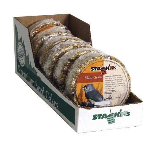 Heath Outdoor Products SC-54 Multi-Grain Stack'Ms Seed Cake, 7-Ounce (Pack of 6) by Heath Outdoor Products