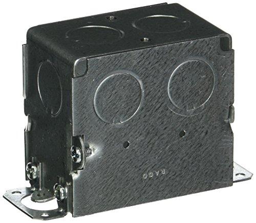 Hubbell-Raco 560 Gangable Switch Box, 1 Gang, 14 Cu-in X 3 in L X 2 in W X 2-3/4 in D, 3