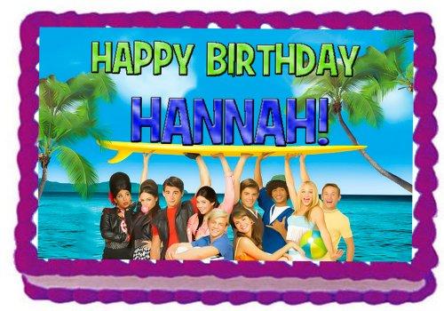 Teen Beach Movie 1/4 Sheet Edible Photo Birthday Cake Topper. ~ -
