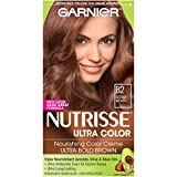 reddish brown hair color - Garnier Nutrisse Ultra Color Nourishing Hair Color Creme, B2 Reddish Brown (Packaging May Vary)