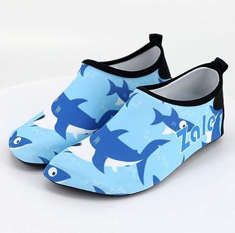 YYAMO Zapatos De Playa para Niños Zapatos Acuáticos para ...