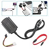 LinkStyle Adapter/Converter, SATA/PATA/IDE Drive to USB 2.0 Adapter Converter Cable for Hard Drive Disk HDD 2.5/3.5inch