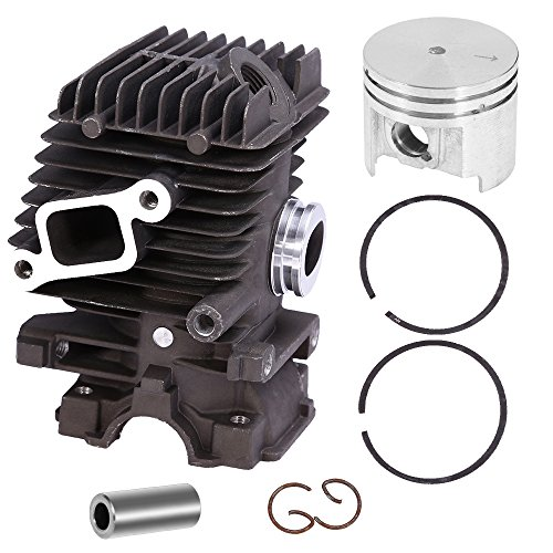 020 Piston Kit - QUIOSS 37MM Cylinder Piston Kit For Stihl MS192T Chainsaws Replace#1137 020 1203 11370201203 NEW