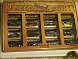 """Hot Wheels - Treasure Hunt 1998 - Limited Edition (1 of only 5000) - Series IV Anniversary Set. Includes all 12 Hot Wheels Treasure Hunt vehicles from 1998 in a special design """"Hot Wheels Treasure Hunt 1998"""" graphical display carrying case/box"""