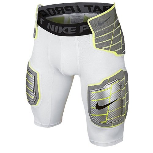 (Nike Hyperstrong Hard PLT Plate Short - White - Large)