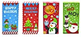 Arts & Crafts : Christmas Money, Check & Gift Card Holder Boxes (Set of 4)