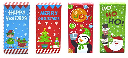 Christmas Money, Check & Gift Card Holder Boxes (Set of 4)