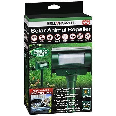 Bell & Howell Solar Animal Repeller - 3PC