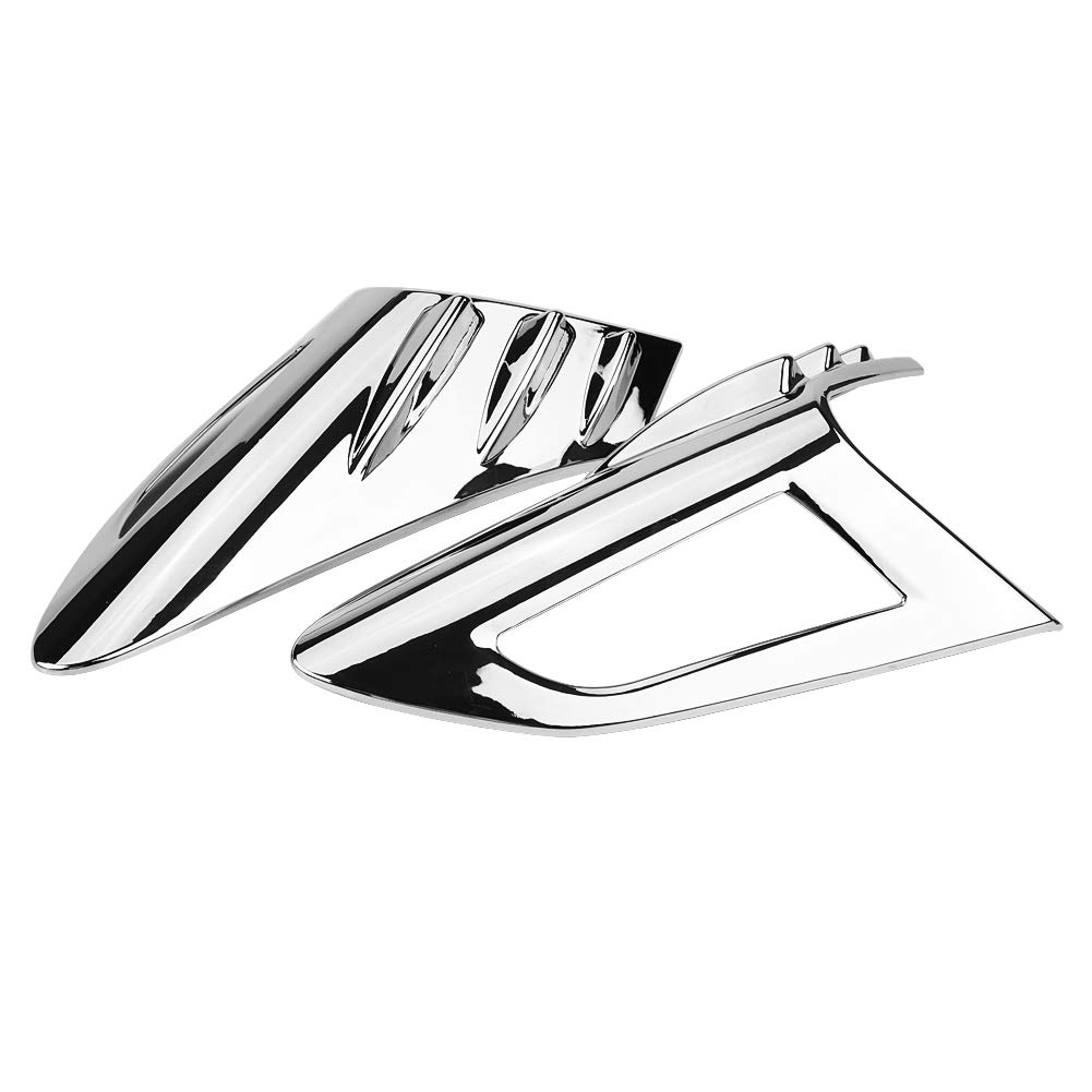 Pasamer 4Pcs Chrome Rear Back Lamp Tail Light Cover Trim Fit for Toyota CHR