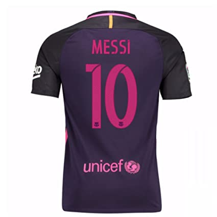 Image Unavailable. Image not available for. Color  Nike Barcelona Away Shirt  (Messi 10) - Youth Large 9dc2b2633