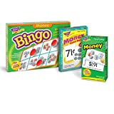 Trend Ent. Money Bingo Game, Money Match Me Cards & Money Skill Drill Flash Cards Bundle