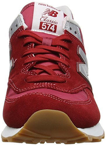 Ml574hrt Hombre Balance Rojo red Zapatillas New fq5zSwTS