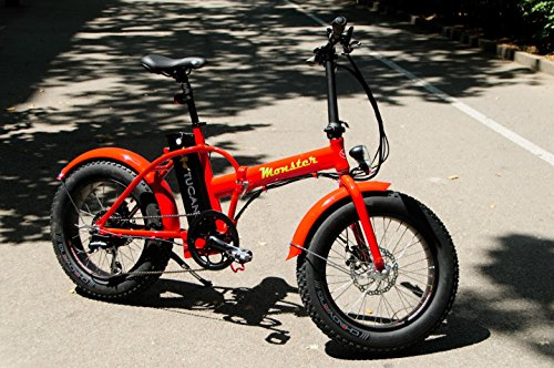 MONSTER 20 - Die Elektro-Faltrad - The Folding Electric Bike - Räder 20