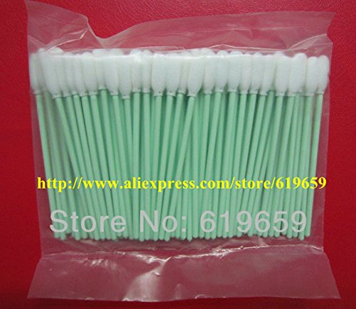 Printer Parts - 2000 pcs Small Foam Cleaning Swabs for Canon Yoton for Eps0n Printer Cleaning Swabs Swab