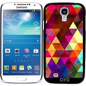 Funda para Samsung Galaxy S4 Mini (GT-I9195) - Triángulos Retro 02 by Aloke Design