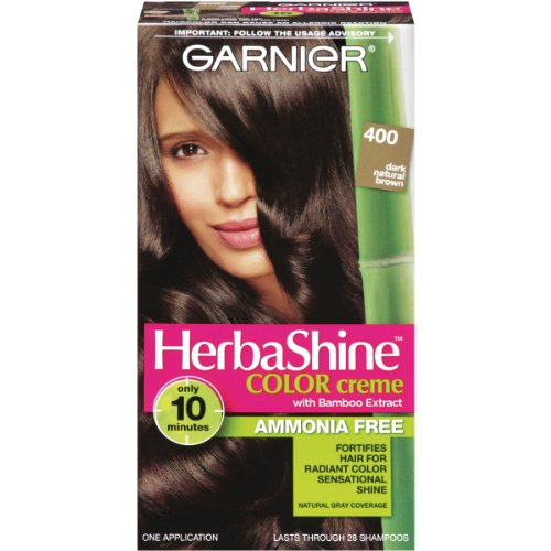 Garnier Herbashine Haircolor, 400 Dark Natural Brown by Garnier