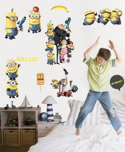 Roommates Rmk2080Scs Despicable Me 2 Peel And Stick Wall (The Little Girl From Despicable Me)